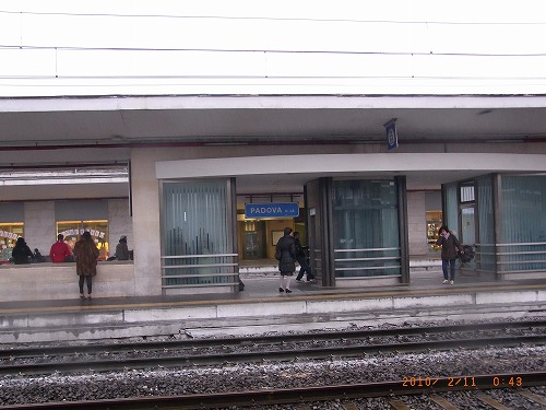 2010.2、パドヴァ駅
