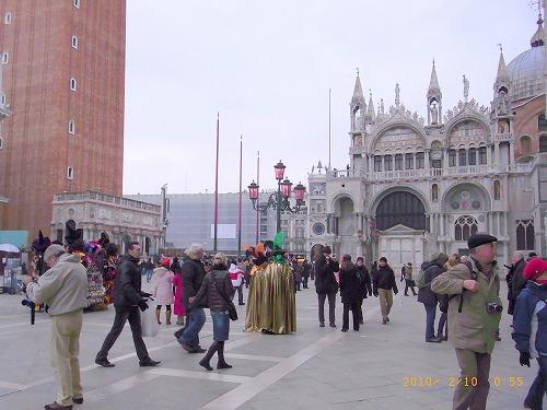 2010.2、サン・マルコ広場